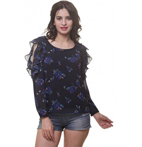 WOMEN'S PRINTED STYLISH TOP NOW TRY IT